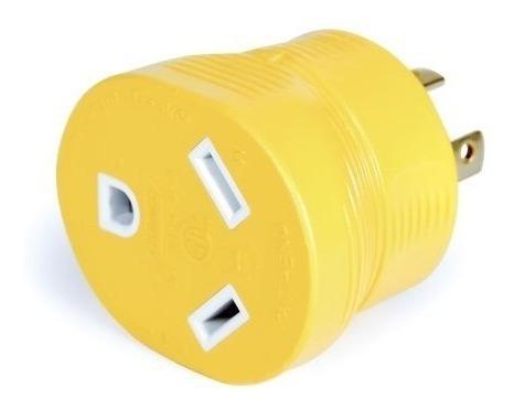 Camco 55338 Powergrip 30 Amp Adaptador De Generador De 4 Pat