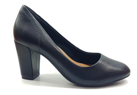 Zapato Mujer Taco Bajo 8.5 Cm Importado Ramarin 1694251