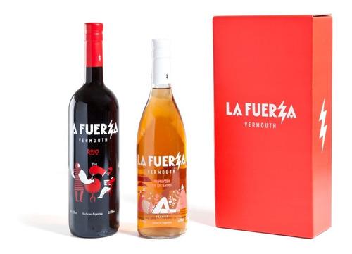 Imagen 1 de 5 de Caja 2 Botellas La Fuerza Mix (1 Rojo + 1 Primavera)