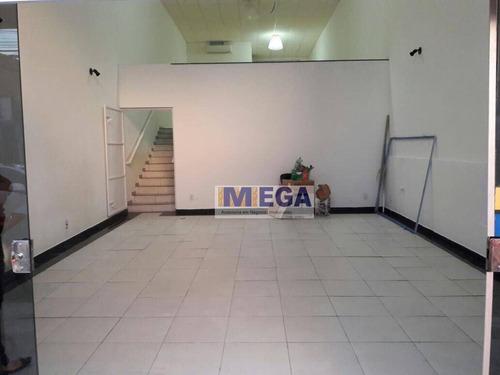 Salão Para Alugar, 135 M² Por R$ 2.200,00/mês - Bosque - Campinas/sp - Sl0018