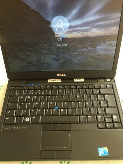 Notebook Dell Latitude E4300 - 4 Gb Mem - 160 Gb