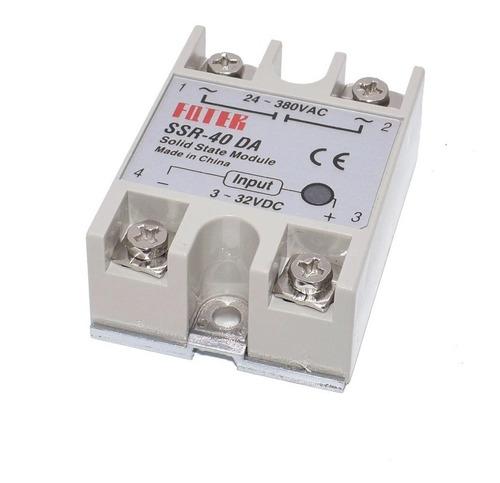 Relevador De Estado Sólido Ssr-40da 40a/250v 3-32vdc,arduino