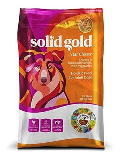 Solid Gold Dry Y Wet Dog Food; Star Chaser Con Real Chicken