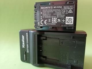 Batería Sony Original Np-fv 70a, Para Cámaras Ax33 Y Más.
