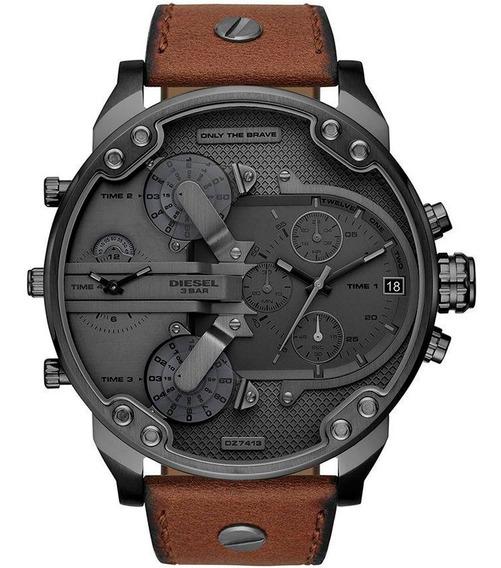 Relógio Diesel Masculino Mr. Daddy Cronógrafo Dz7413/0mn