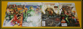 Ccc21 Dc Comic Brightest Blackest Aquaman Hawkman Hawkgirl