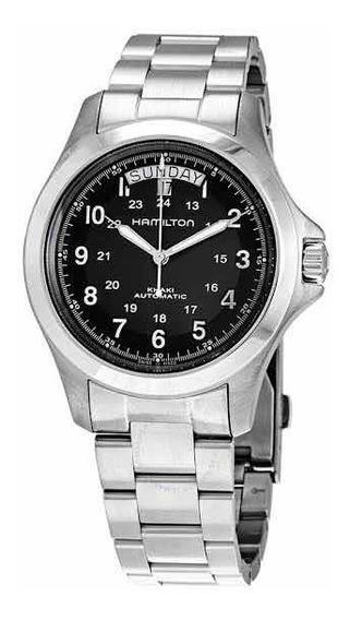 Relógio Hamilton Khaki King H64455133 Completo Novo C/ Nf