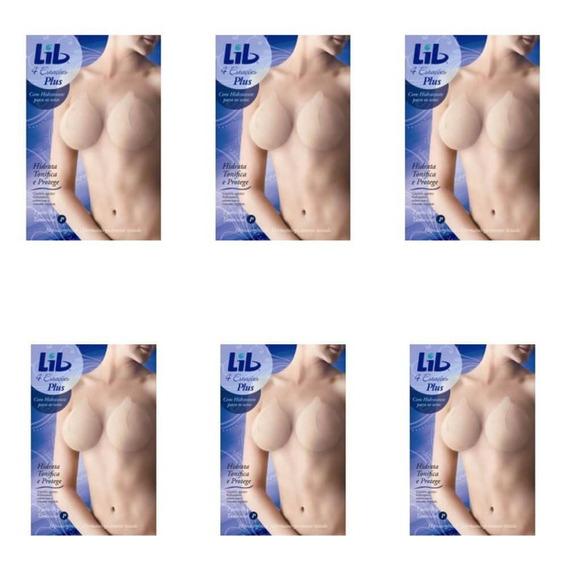 Lib Modelador Seios 4 Estações C/hidr C/2 Pares P (kit C/06)