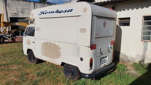 Perua Kombi Food Truck