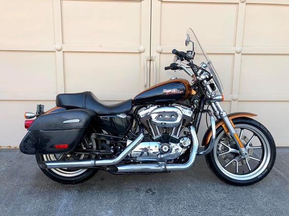 Harley Davidson 1200 Sportster Super Low 2015 Equipada