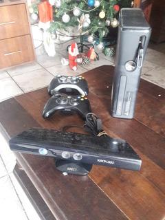 Consola Xbox 360+kinect+2 Joysticks