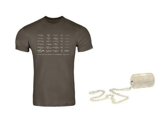 Camiseta Concept Invictus Novos Modelos Originais + Brinde