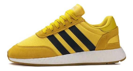 Tênis adidas Iniki I-5923 Yellow Black Imediato