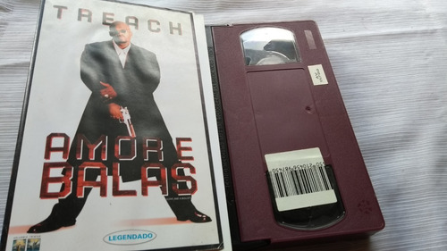 Treach Amor E Balas Fita Vídeo Vhs Original Oferta