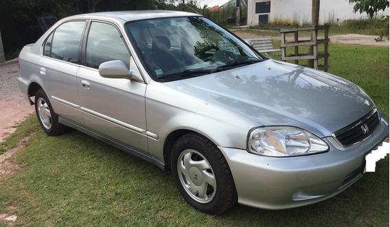 Honda Civic 2000 4p Aut - Ótimo Carro