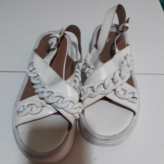 Sandalias De Paruolo Blancas