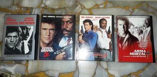 Dvd Coleccion Arma Mortal