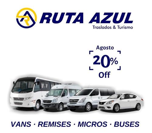 Traslado Fiesta Eventos Camioneta Van Transporte Alquiler