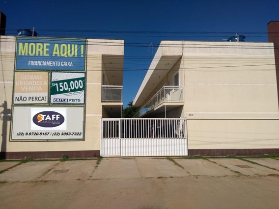 Apartamento Com 2 Dormitórios À Venda, 56 M² Por R$ 150.000 - Peixe Dourado - Casimiro De Abreu/rj - Ap0647