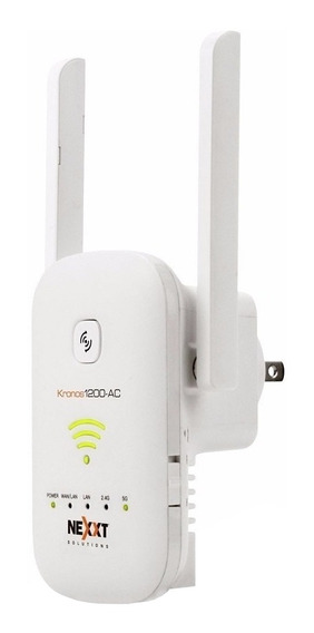 Repetidor, Router, Access point Nexxt Solutions Kronos 1200-AC blanco 110V/220V