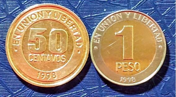 Monedas Argentina 1998 Mercosur