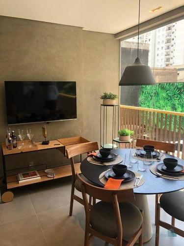 Apartamento Com 1 Dormitório À Venda, 25 M² Por R$ 396.800,00 - Perdizes - São Paulo/sp - Ap13152