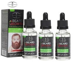 3 Un Cresce Barba Bigode Pelo Cabelo Bebe Barbudo Growth Fg