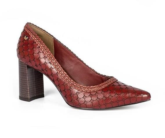Sapato Tanara Feminino Recortes - T3184