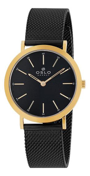Relógio Oslo Oftsss9t0007 P1px Aco Inox Feminino