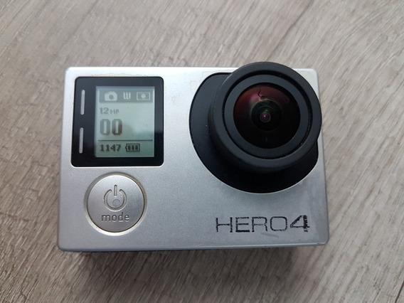 Gopro Hero 4 Black - Com Lcd E Acessórios