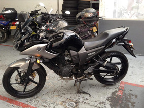 Yamaha Fz16 St Fazer Negra Gris
