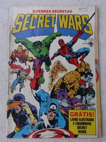 Guerras Secretas Secret Wars Nº 1 A 12 - Editora Abril 1986