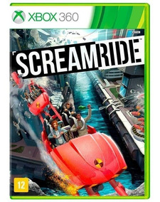 Scream Ride Xbox 360 Mídia Física Lacrado