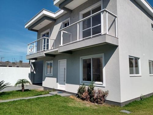 Imagem 1 de 15 de Sobrado À Venda, 126 M² Por R$ 450.000,00 - Ingleses Do Rio Vermelho - Florianópolis/sc - So0133