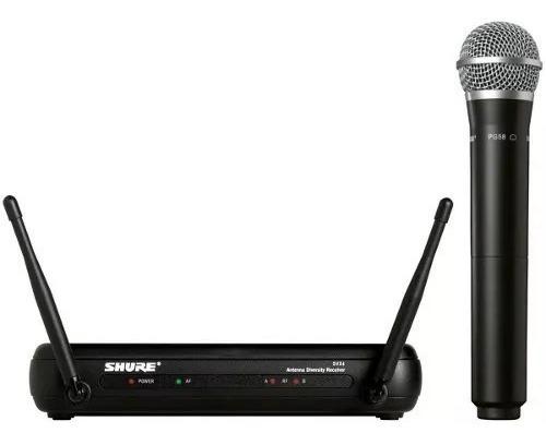 Microfone Shure S/fio Pg58 / Svx4