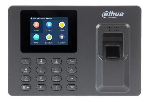 Panel De Control De Asistencia Con Huella Digital Y Clave.