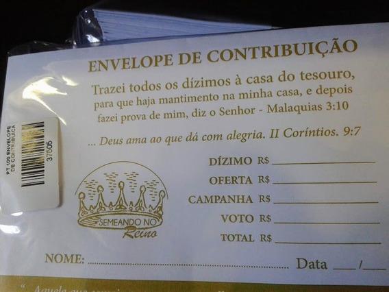 500 Envelopes Contribuição Dízimos E Ofertas