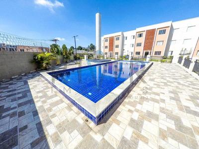 Apartamentos Novos Em Itaquaquecetuba/sp; 2 Quartos; 1 Vaga; Piscina - Ap0021