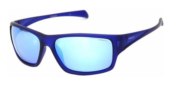 Óculos De Sol Polaroid 7016 Esportivo Polarizado