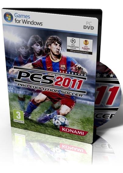 Pro Evolution Soccer Pes 2011 Pc Original Mídia Física