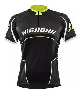 Camisa Masculia High One Preto/verde