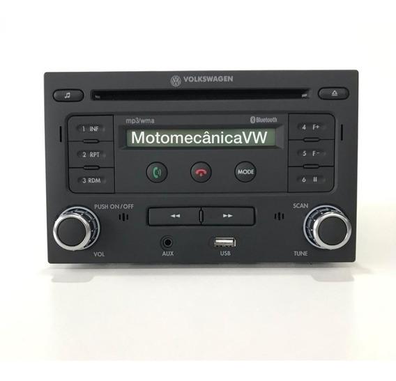 Radio Mp3 Bluetooth Cd Player Aux Usb Golf Polo Original Vw