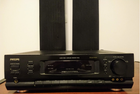 Home Theate Receiver Surroud Fr-732 Dolby Prologic Philips