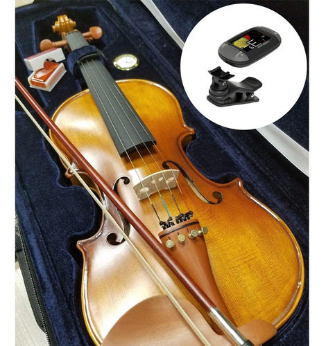 Violin Stradella Mv1414 4/4 Macizo Arco Resina  Cuotas