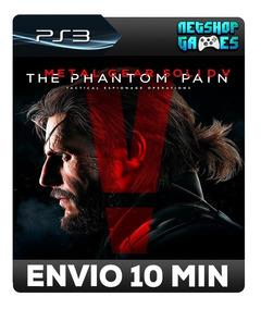 Metal Gear V: The Phantom Pain - Psn Ps3 - Envio Automatico