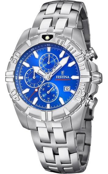 Relógio Festina Azul Chrono Sport F20355/1