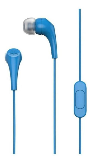 Fone De Ouvido Earbuds 2 Intra-auricular Azul - Motorola