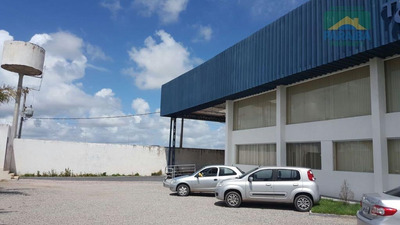 Galpão Comercial À Venda - Distrito Industrial - João Pessoa - Pb - Ga0015