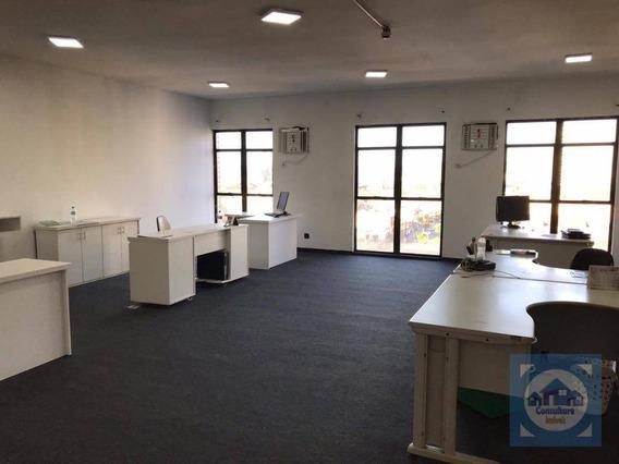 Sala Para Alugar, 87 M² Por R$ 1.500/mês - Centro - Santos/sp - Sa0112