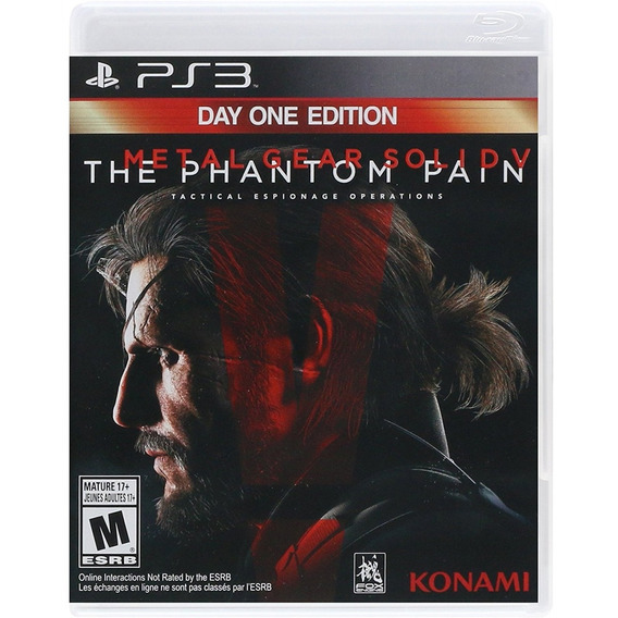 Metal Gear Solid V The Phantom Pain One Day Edition Ps3